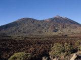 Mount Teide, Parque Nacional De Las Canadas Del Teide, Tenerife Photographic Print by White Gary