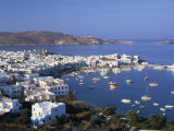 Mykonos, Cyclades Islands, Greek Islands, Greece Photographic Print by Merten Hans Peter