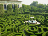 Garden Maze, Portugal, Europe Photographic Print by Westwater Nedra