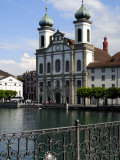 Jesuit Church, Luzern, Switzerland, Europe Photographic Print by Richardson Peter