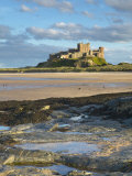Bamburgh Castle, Northumberland, England, United Kingdom, Europe Photographic Print by Wogan David