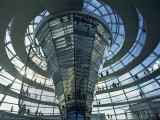 Modern Glass Building, Reichstag, Berlin, Germany, Europe Photographic Print by Merten Hans Peter
