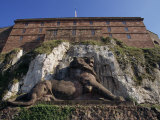 Statue of the Famous Lion of Belfort in Franche-Comte, France, Europe Photographic Print by Woolfitt Adam