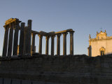 Roman Temple, Temple of Diana, Evora, Alentejo, Portugal, Europe Photographic Print by White Gary