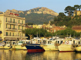 View across Harbour in the Evening, Cassis, Bouches-Du-Rhone, Cote D'Azur, Provence, France Photographic Print by Tomlinson Ruth
