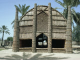 Mudhif&#39; Meeting House, Chobaish Marshes, Iraq, Middle East Photographic Print by Theakston Victoria