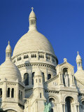 Sacre Coeur, Montmartre, Paris, France, Europe Photographic Print