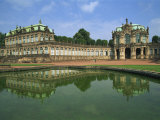 Zwinger, Dresden, Saxony, Germany, Europe Photographic Print by Merten Hans Peter