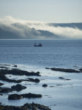Mist Rolling from the Hills at Dawn, Looe, Cornwall, England, United Kingdom, Europe Photographic Print by Wogan David