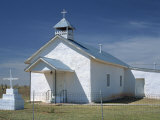 Parish Church at Valiadero, on State Road 104, in Las Vegas, New Mexico, USA Photographic Print by Westwater Nedra