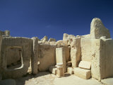Hagar Qim Temple, UNESCO World Heritage Site, Zurrieq, Malta, Europe Photographic Print by Merten Hans Peter