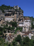 Rocamadour, Midi Pyrenees, France, Europe Photographic Print by Groenendijk Peter