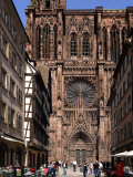Notre Dame Cathedral, Strasbourg, Alsace, France, Europe Photographic Print by Richardson Peter