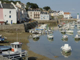 Sauzon Port, Belle Ile, Brittany, France, Europe Photographic Print by Groenendijk Peter