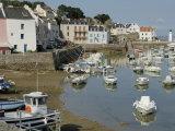 Sauzon Port, Belle Ile, Brittany, France, Europe Photographic Print by Groenendijk Peter