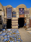 Traditional Pottery and Rug Shop, Tunisia, North Africa, Africa Photographic Print by Papadopoulos Sakis