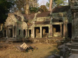 Minor Temples Within the Complex of Khmer Monuments at Angkor Wat, Siem Reap, Cambodia Photographic Print by Traverso Doug