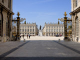 Gilded Wrought Iron Gates by Jean Lamor, Place Stanislas, Nancy, Lorraine, France Photographic Print by Richardson Peter