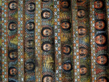 Angels, Debre Birhan Selassie Church, Gondar, Ethiopia, Africa Photographic Print by Groenendijk Peter
