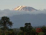 Mount Kilimanjaro, UNESCO World Heritage Site, Tanzania, East Africa, Africa Photographic Print by Groenendijk Peter