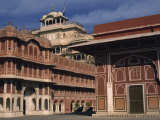 City Palace, Jaipur, Rajasthan State, India Photographic Print by Strachan James