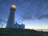 Flamborough Lighthouse, Flamborough, East Yorkshire, Yorkshire, England, United Kingdom, Europe Photographic Print by Wogan David