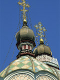 Zenkov Cathedral, Built of Wood But No Nails in 1904, at Almaty, Kazakhstan, Central Asia Photographie par Strachan James