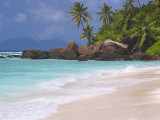 Empty Beach, Seychelles, Indian Ocean, Africa Photographic Print by Papadopoulos Sakis