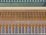 Ornate Architectural Detail Above Entrance to the Royal Palace, Fez, Morocco, North Africa, Africa Photographic Print by Edwardes Guy