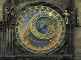 Astronomical Clock, Old Town Square, Prague, Czech Republic, Europe Photographie par Strachan James