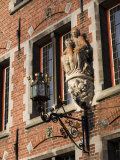 Detail of the Begijnhof, UNESCO World Heritage Site, Bruges, Belgium, Europe Photographic Print by White Gary
