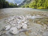 Soca River, Soca, Triglav National Park, Julian Alps, Slovenia, Europe Photographic Print by Edwardes Guy