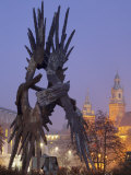 Royal Cathedral and Second World War Memorial, Krakow, Poland, Europe Photographic Print by Edwardes Guy
