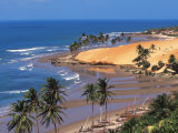 Beach in Fortaleza, Ceara, Brazil, South America Fotografie-Druck von Papadopoulos Sakis