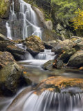 Moss Glen Falls, Vermont, New England, United States of America, North America Photographic Print by Edwardes Guy
