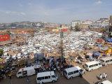 Nakasero Market, Kampala, Uganda, East Africa, Africa Photographic Print by Groenendijk Peter