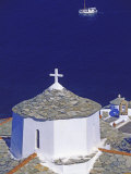 Church on Skopelos Island, Greek Islands, Greece, Europe Photographic Print by Papadopoulos Sakis