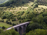 Monsal Head Viaduct, White Peak, Peak District National Park, Derbyshire, England, UK Photographic Print by White Gary