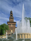 Castello Sforzesco, Milan, Lombardy, Italy, Europe Photographic Print by Merten Hans Peter