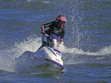 Jet Skier Photographic Print