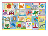 The Alphabet Giclee Print by Claire Beaton