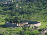 Great Zimbabwe National Monument, UNESCO World Heritage Site, Zimbabwe, Africa Photographic Print by Groenendijk Peter