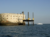 Fort Boyard, Near Ile D'Oleron, Charente Maritime, France, Europe Photographic Print by Groenendijk Peter