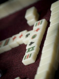 Mahjong Tiles, Dali, Yunnan, China Photographic Print by Porteous Rod