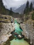 Soca River, Soca Valley, Triglav National Park, Julian Alps, Slovenia, Europe Photographic Print by Edwardes Guy
