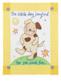 The Little Dog Laughed Giclee Print by Sophie Harding