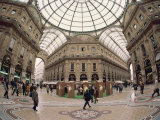 Galleria Vittorio Emanuele, Milan, Lombardy, Italy, Europe Photographic Print by Merten Hans Peter