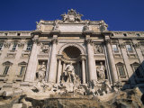 Trevi Fountain, One of the Landmarks of Rome, Lazio, Italy, Europe Photographic Print by Merten Hans Peter