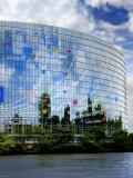 European Parliament, Strasbourg, Alsace, France, Europe Photographic Print by Richardson Peter