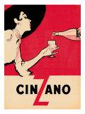Cinzano - Birinci Sınıf Giclee Baskı